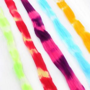 Two colours Specially dyed nylon, Nylon, Stretched Size per piece 1.5m x 15cm, 5 pieces, [SWW0786]